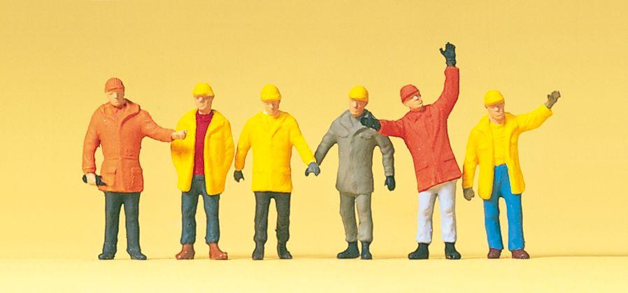 1:87 Arbeiter in Schutzkleider - Preiser 14034  | günstig bestellen bei Modelleisenbahn Center  MCS Vertriebs GmbH