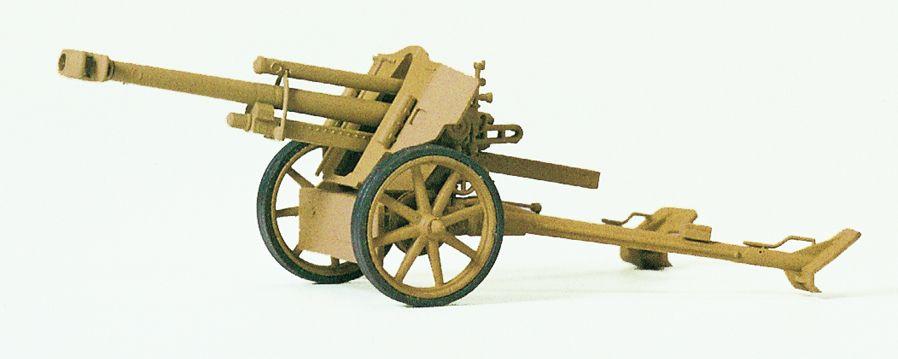 1:87 EDW Leichte Feldhaubitze 10,5mm, Bausatz- Preiser 16534 Art.Nr.663-16534
