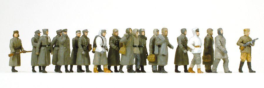1:87 EDW Deutsche Kriegsgefangene - Preiser 16578  | günstig bestellen bei Modelleisenbahn Center  MCS Vertriebs GmbH
