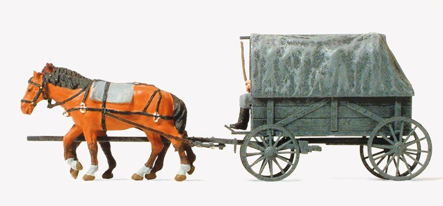 1:87 EDW Ersatzfeldwagen Erfa, bespannt, Bausatz- Preiser 16588  | günstig bestellen bei Modelleisenbahn Center  MCS Vertriebs GmbH