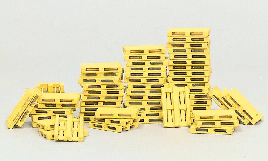 1:87 Euro-Paletten, Bausatz, 60 St.- Preiser 17104  | günstig bestellen bei Modelleisenbahn Center  MCS Vertriebs GmbH