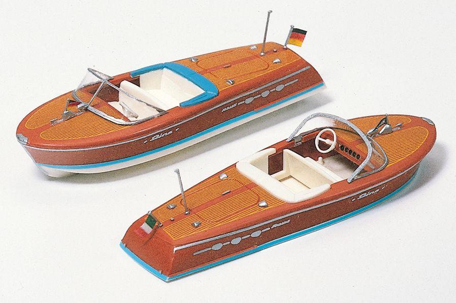 1:87 2 Motorboote, Bausatz - Preiser 17304  | günstig bestellen bei Modelleisenbahn Center  MCS Vertriebs GmbH