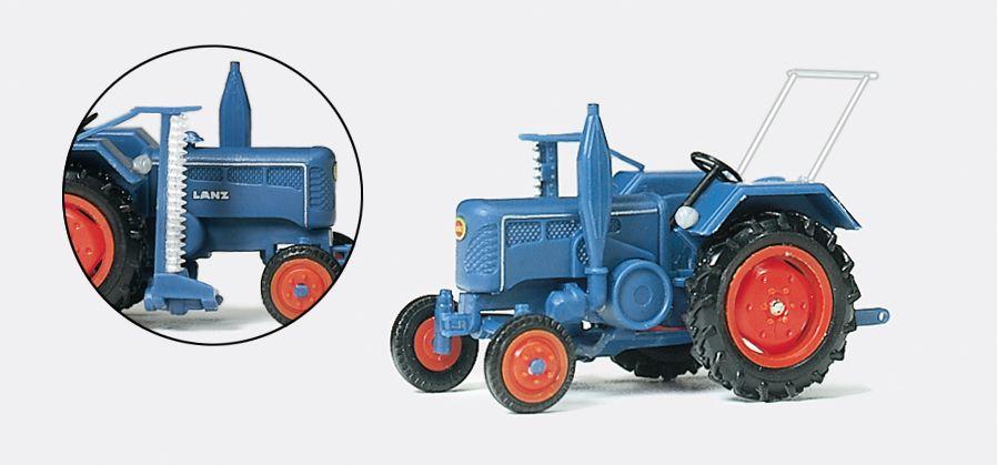 1:87 Lanz Ackerschlepper D 2416 Fertigmodell- Preiser 17921  | günstig bestellen bei Modelleisenbahn Center  MCS Vertriebs GmbH