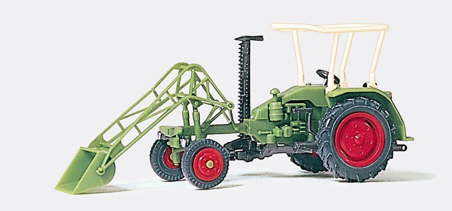 1:87 Geräteträger mit Frontlader, Fertigmodell- Preiser 17928  | günstig bestellen bei Modelleisenbahn Center  MCS Vertriebs GmbH