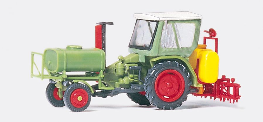 1:87 Geräteträger mit Verdeck, Fertigmodell- Preiser 17933  | günstig bestellen bei Modelleisenbahn Center  MCS Vertriebs GmbH