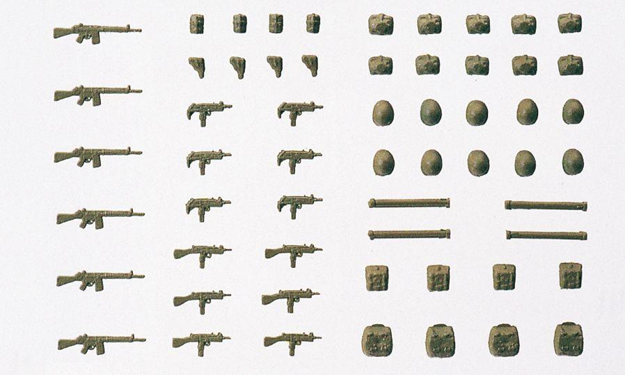 1:87 BW Waffen, unbemalt - Preiser 18365  | günstig bestellen bei Modelleisenbahn Center  MCS Vertriebs GmbH