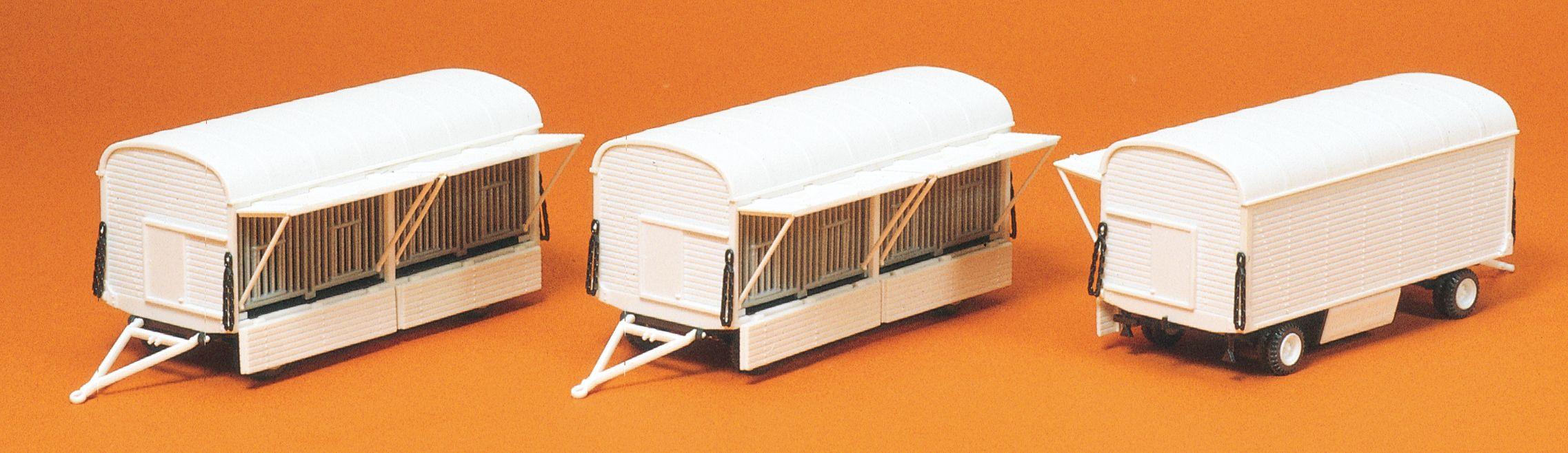 1:87 Zirkus Käfigwagen, Bausatz, 3 St.- Preiser 20007  | günstig bestellen bei Modelleisenbahn Center  MCS Vertriebs GmbH