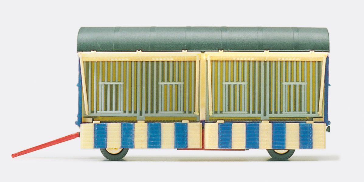 1:87 Zirkus Krone Käfigwagen offen, Fertigmodell- Preiser 21019  | günstig bestellen bei Modelleisenbahn Center  MCS Vertriebs GmbH