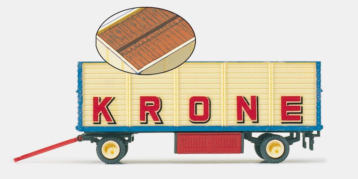 1:87 Zirkus Krone Packwagen offen, Fertigmodell- Preiser 21020  | günstig bestellen bei Modelleisenbahn Center  MCS Vertriebs GmbH