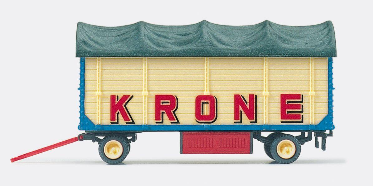 1:87 Zirkus Krone Packwagen m. Plane, Fertigmodell- Preiser 21023  | günstig bestellen bei Modelleisenbahn Center  MCS Vertriebs GmbH
