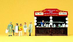 1:87 Verkaufsbude Porzellan Fertigmodell- Preiser 24693  | günstig bestellen bei Modelleisenbahn Center  MCS Vertriebs GmbH