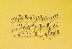 1:87 Absperrgitter, 16 St. - Preiser 25175  | günstig bestellen bei Modelleisenbahn Center  MCS Vertriebs GmbH
