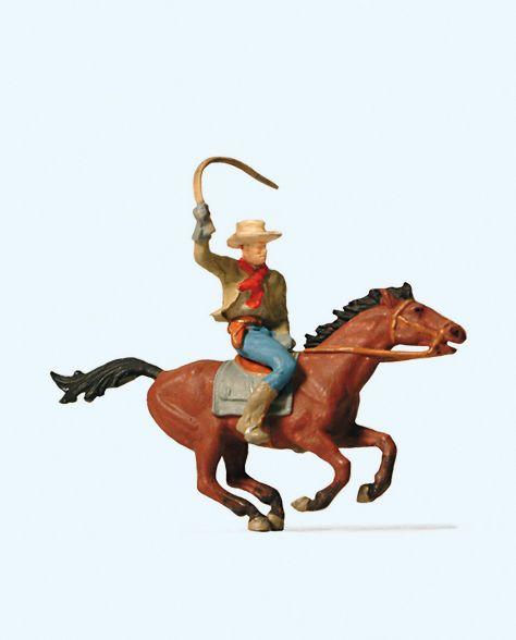 1:87 Cowboy zu Pferd - Preiser 29065  | günstig bestellen bei Modelleisenbahn Center  MCS Vertriebs GmbH