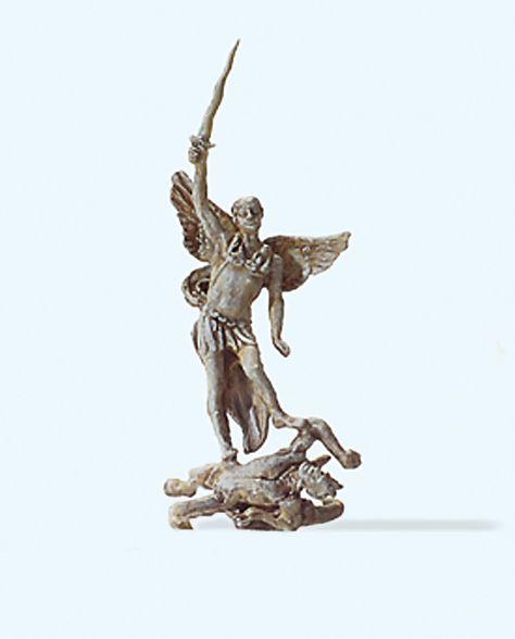 1:87 Statue Erzengel Michael- Preiser 29100  | günstig bestellen bei Modelleisenbahn Center  MCS Vertriebs GmbH