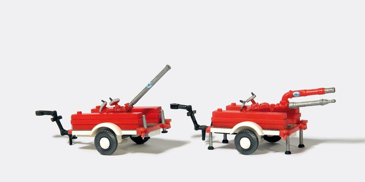 1:87 Feuerwehr ALCO Schaumwasserwerfer, 2 St., Bausatz- Preiser 31114  | günstig bestellen bei Modelleisenbahn Center  MCS Vertriebs GmbH