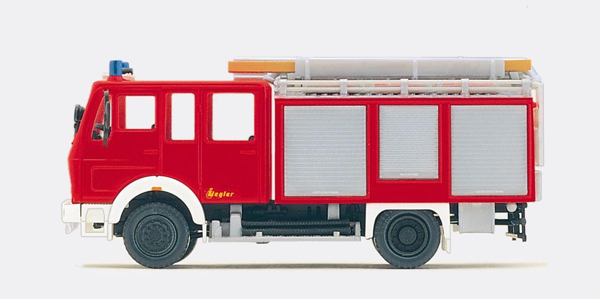1:87 Feuerwehr Schlauchwagen SW 2000, MB 2312 AF-36,Aufbau Ziegler, Bausatz - Preiser 31144  | günstig bestellen bei Modelleisenbahn Center  MCS Vertriebs GmbH
