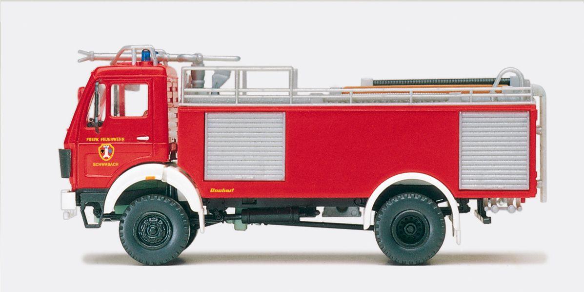 1:87 Feuerwehr Tanklöschfahrzeug TLF 24- 50, MB 1922-AK, Aufbau BACHERT Bausatz - Preiser 31178  | günstig bestellen bei Modelleisenbahn Center  MCS Vertriebs GmbH