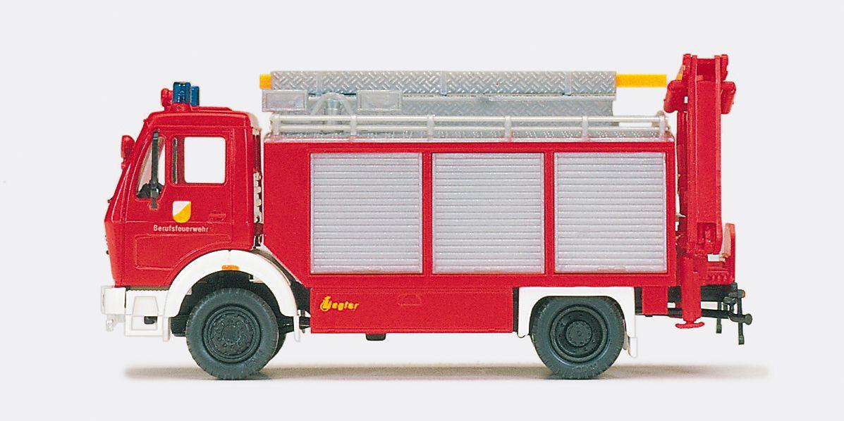 1:87 Feuerwehr Rüstwagen MB 1017 Aufbau Ziegler, Bausatz- Preiser 31182    günstig bestellen bei Modelleisenbahn Center  MCS Vertriebs GmbH