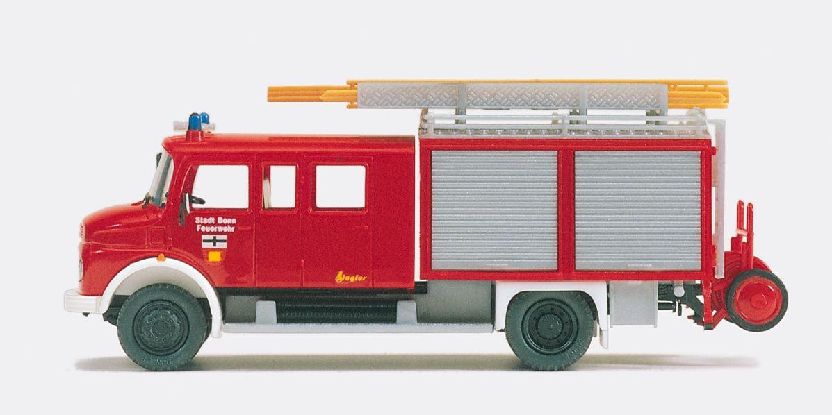 1:87 Feuerwehr Löschgruppen- Fahrzeug MB LAF 1113 B-42, Aufbau ZIEGLER, Bausatz - Preiser 31230    günstig bestellen bei Modelleisenbahn Center  MCS Vertriebs GmbH