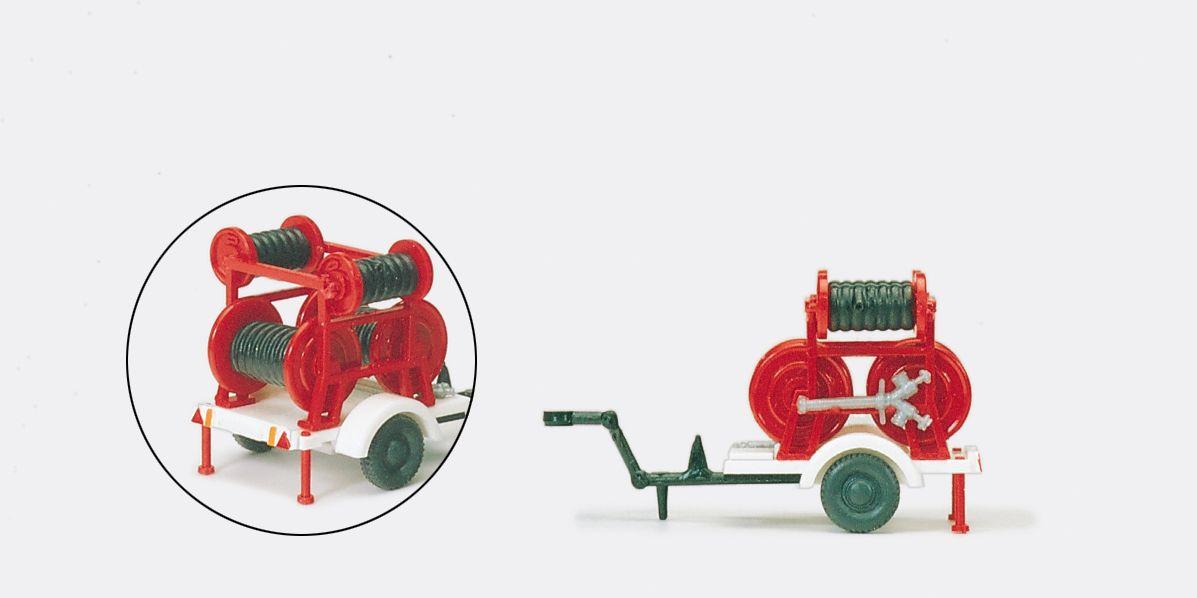 1:87 Feuerwehr Schlauchanhänge Ziegler 2 B-2 C, Bausatz- Preiser 31254    günstig bestellen bei Modelleisenbahn Center  MCS Vertriebs GmbH