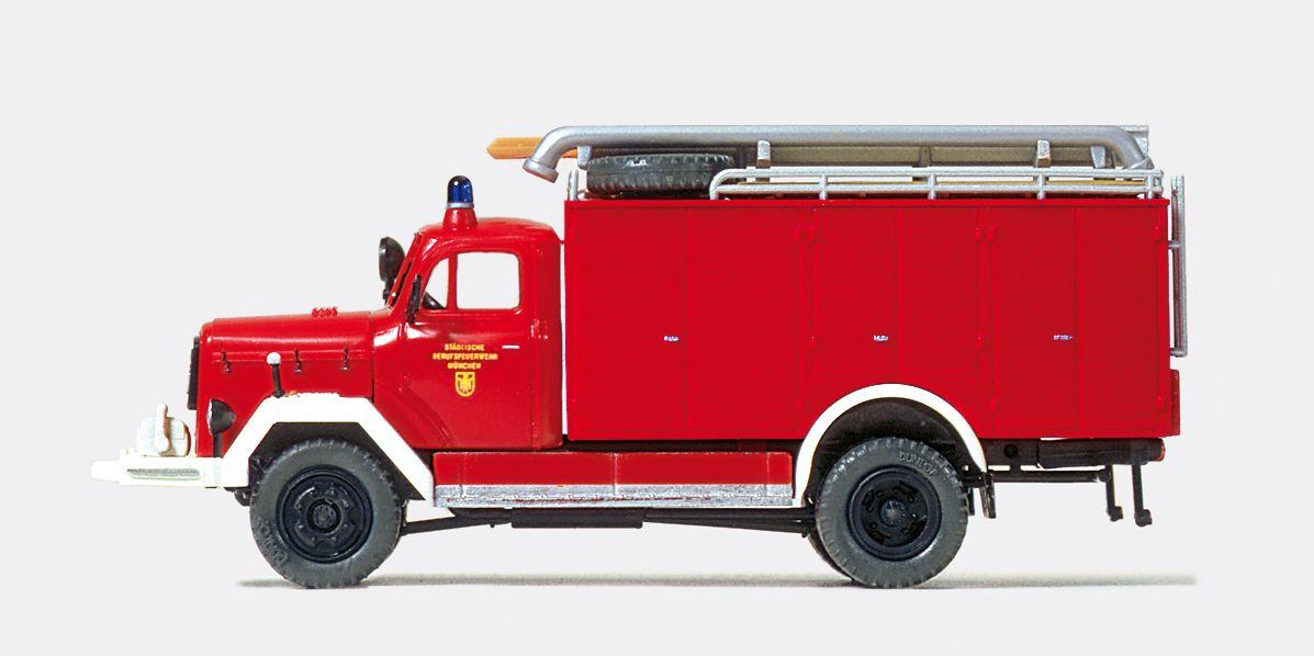 1:87 Feuerwehr Schlauchwagen SW 2000 Magirus F 150 D, Bausatz- Preiser 31259  | günstig bestellen bei Modelleisenbahn Center  MCS Vertriebs GmbH