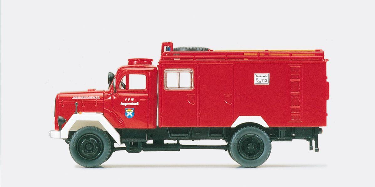 1:87 Katastrophenschutz Schlauchwagen SW 2000 Magirus-Mercur 125 A, Bausatz - Preiser 31276  | günstig bestellen bei Modelleisenbahn Center  MCS Vertriebs GmbH