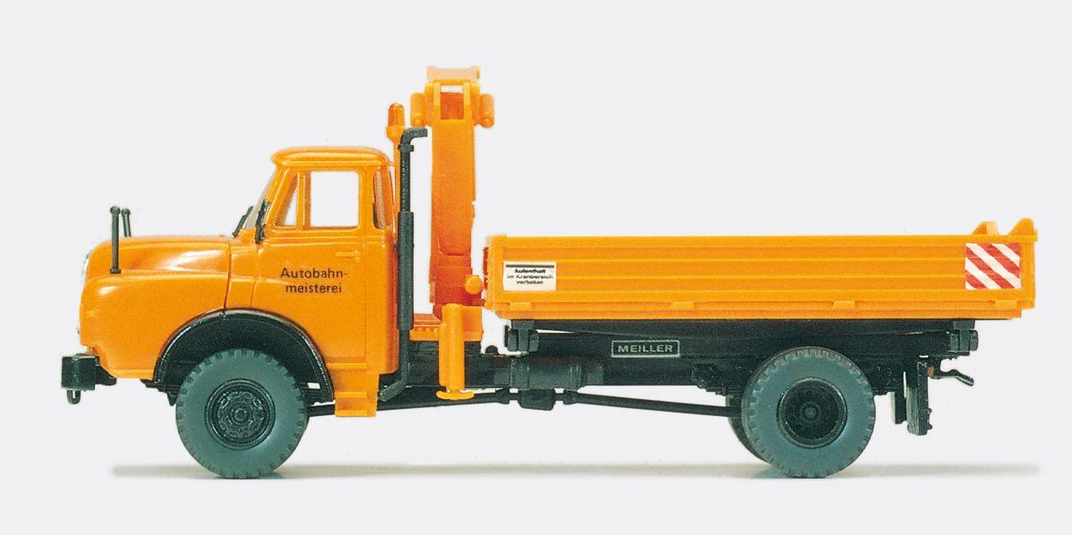 1:87 Kommunal Dreiseitenkipper Bausatz- Preiser 31300  | günstig bestellen bei Modelleisenbahn Center  MCS Vertriebs GmbH