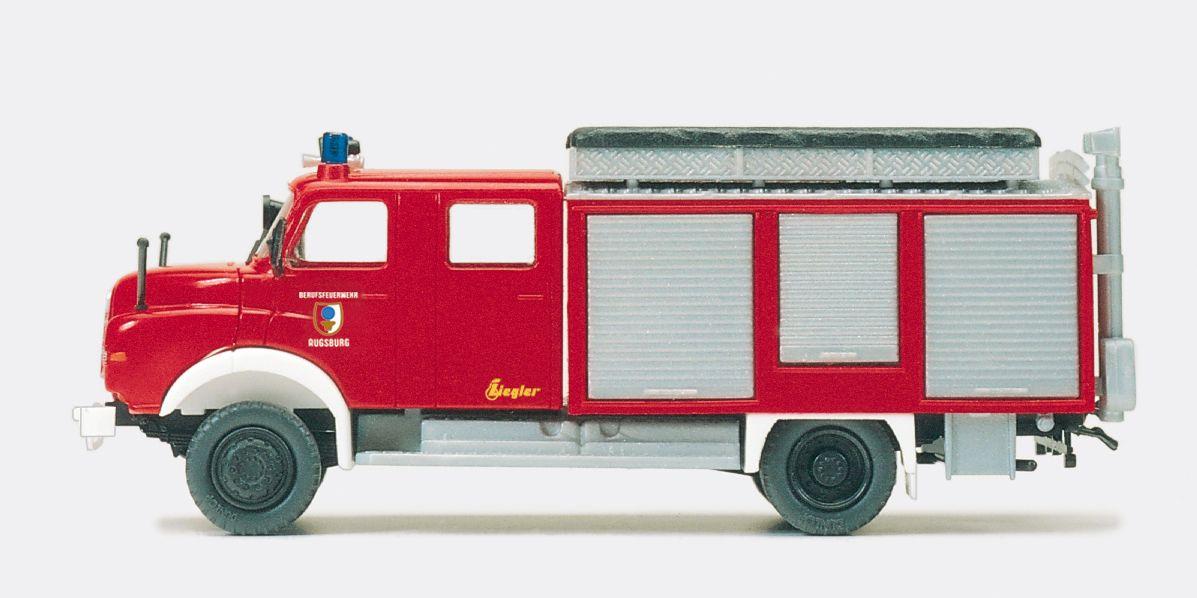 1:87 Feuerwehr Rüstwagen RW-Öl MAN 11.168 HALF,Aufbau Ziegler Bausatz - Preiser 31302    günstig bestellen bei Modelleisenbahn Center  MCS Vertriebs GmbH