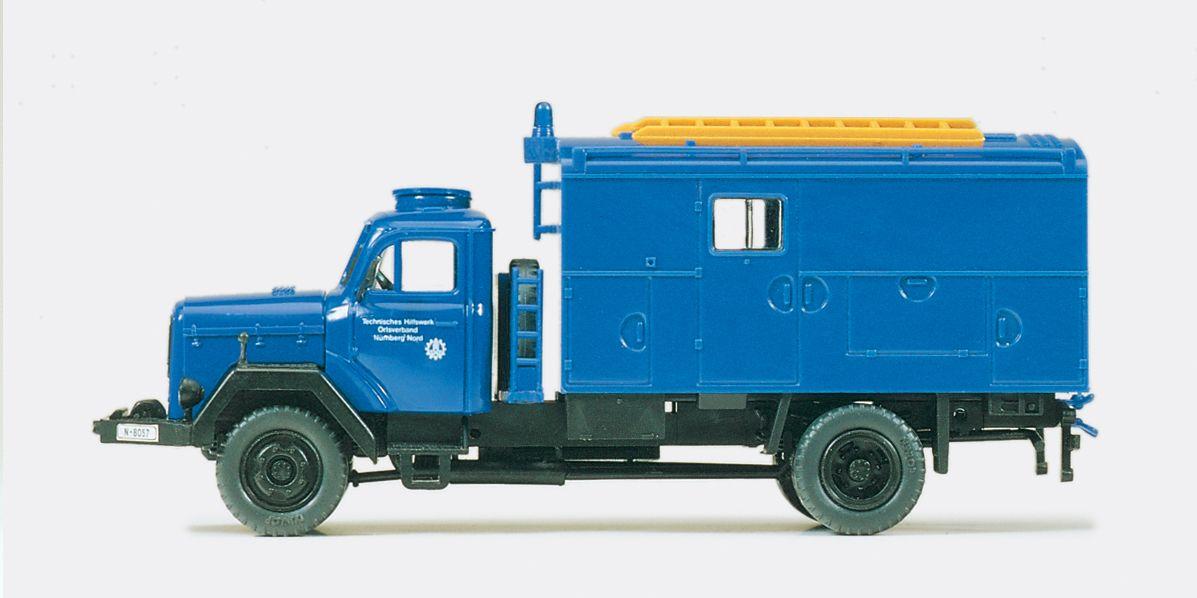 1:87 THW Gerätekraftwagen GKW Magirus Mercur 120 D 10 A., Bausatz - Preiser 31306  | günstig bestellen bei Modelleisenbahn Center  MCS Vertriebs GmbH