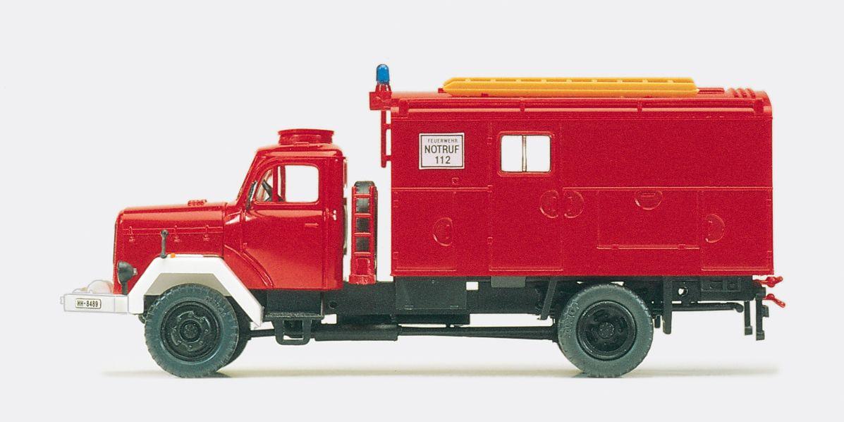 1:87 Feuerwehr Gerätekraftwage GKW, Magirus Mercur 120 D 10 A Bausatz - Preiser 31308  | günstig bestellen bei Modelleisenbahn Center  MCS Vertriebs GmbH