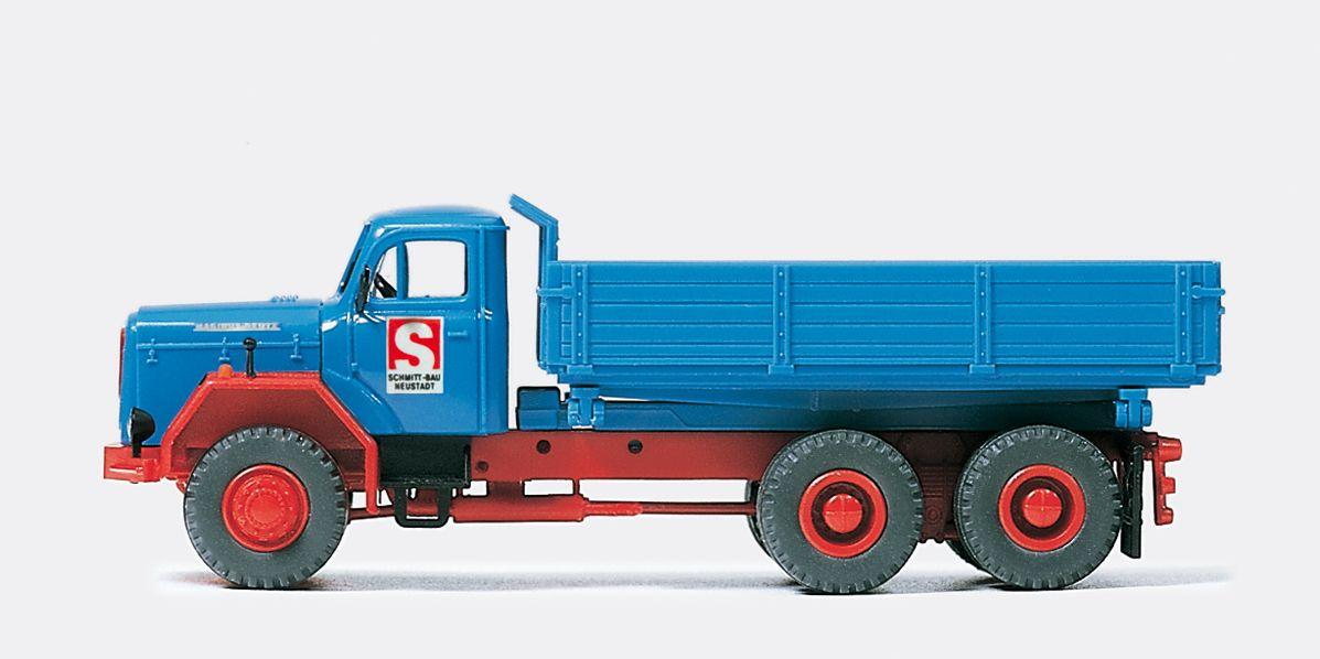 1:87 Dreiseitenkipper Schmitt , Bausatz- Preiser 31311    günstig bestellen bei Modelleisenbahn Center  MCS Vertriebs GmbH