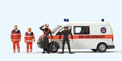 1:87 VW T5 BRK Wasserwacht  | günstig bestellen bei Modelleisenbahn Center  MCS Vertriebs GmbH