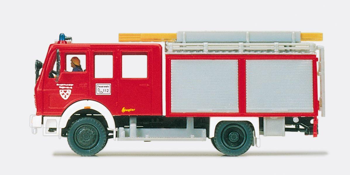 1:87 Feuerwehr Löschgruppenfahrzeug LF18 MB 1019 AF-36, Aufbau Ziegler Fertigmodell - Preiser 35000    günstig bestellen bei Modelleisenbahn Center  MCS Vertriebs GmbH