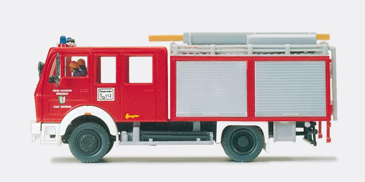 1:87 Feuerwehr Tanklöschfahrzeug TLF 16 MB 1019 AF-36,Aufbau Ziegler Fertigmodell - Preiser 35001  | günstig bestellen bei Modelleisenbahn Center  MCS Vertriebs GmbH