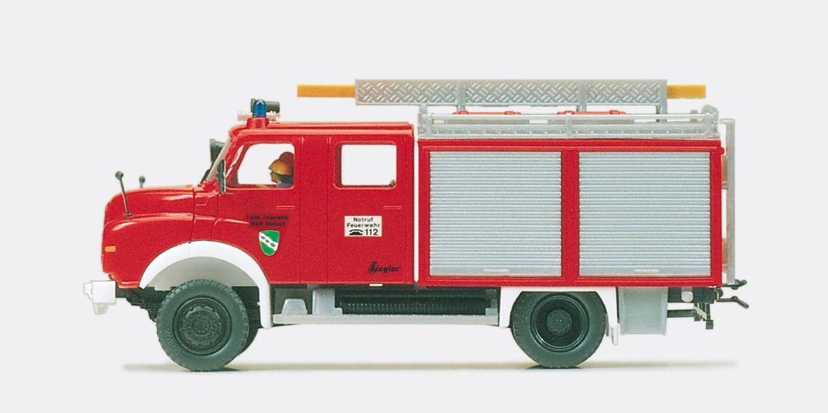 1:87 Feuerwehr Tanklöschfahrzeug TLF 16- 25 MAN 11.192 HALF, Aufbau ZIEGLER, Fertigmodell - Preiser 35005  | günstig bestellen bei Modelleisenbahn Center  MCS Vertriebs GmbH