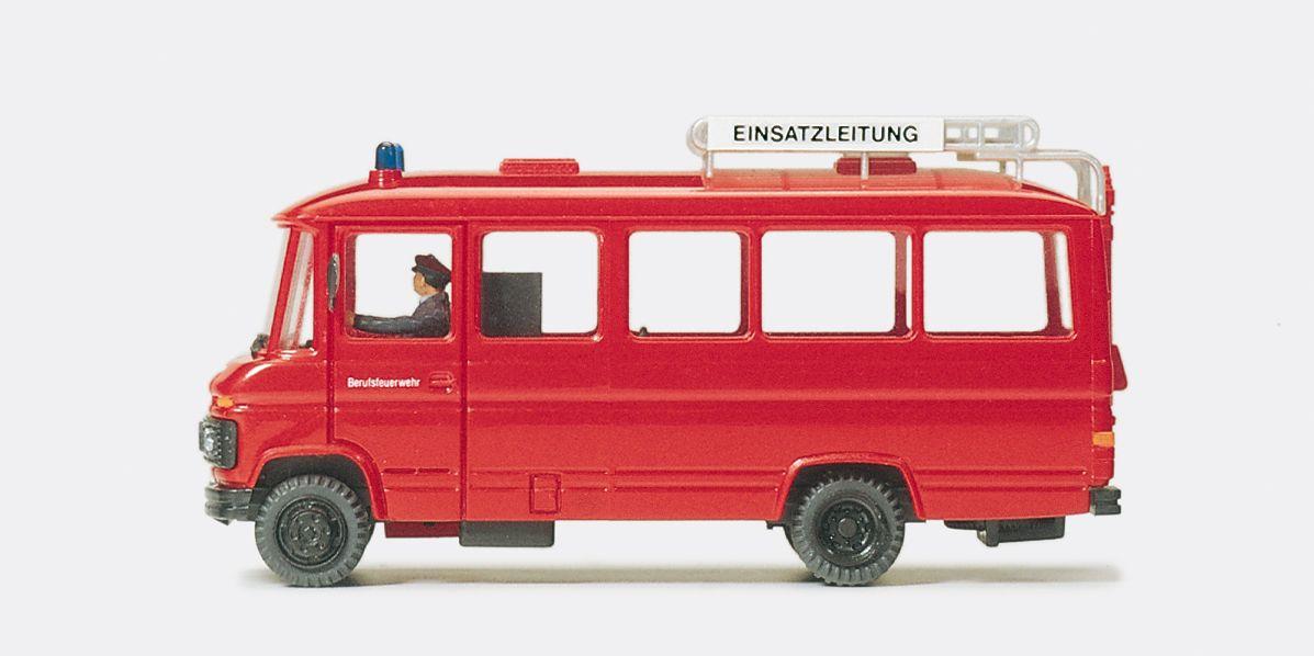 1:87 Feuerwehr Einsatzleitwagen MB O 309 Fertigmodell- Preiser 35011    günstig bestellen bei Modelleisenbahn Center  MCS Vertriebs GmbH