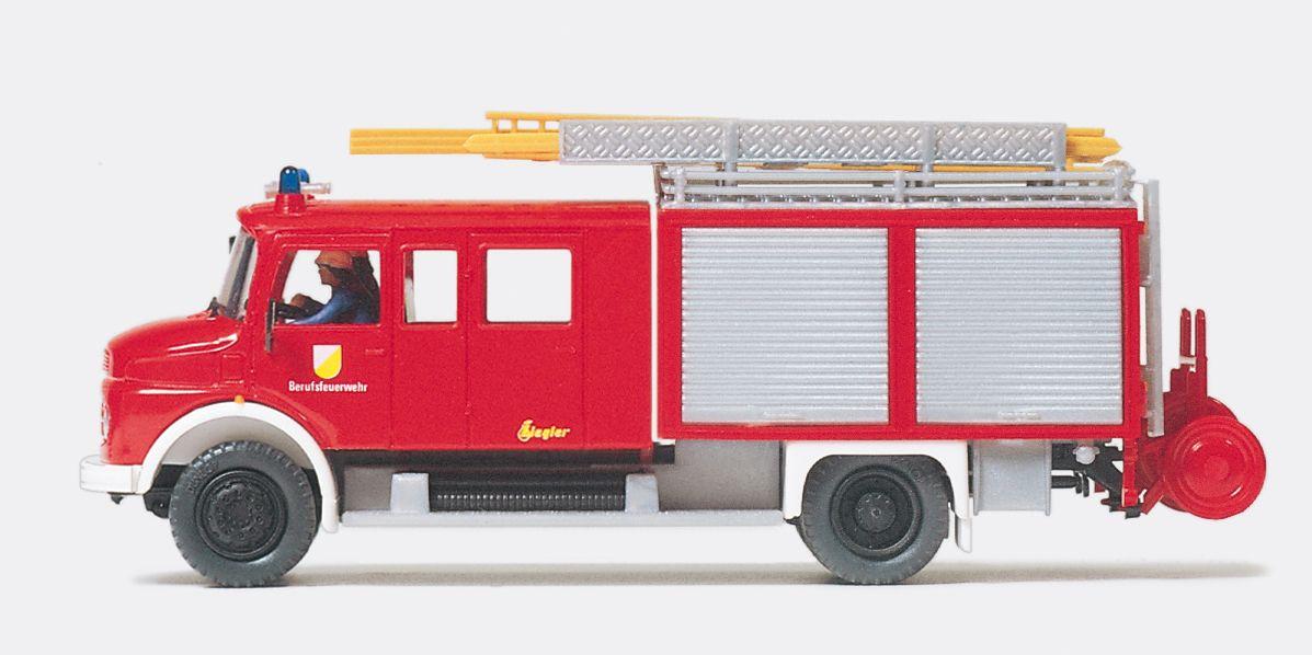 1:87 Feuerwehr Löschgruppenfahrzeug LF16 MB LAF 1113 B-42, Aufbau ZIEGLER, Fertigmodell - Preiser 35013    günstig bestellen bei Modelleisenbahn Center  MCS Vertriebs GmbH