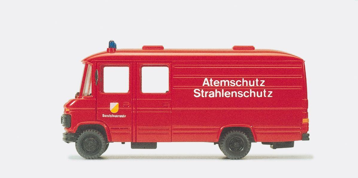 1:87 Feuerwehr Gerätewagen Atemschutz- Strahlenschutz MB 508 D Fertigmodell - Preiser 35018    günstig bestellen bei Modelleisenbahn Center  MCS Vertriebs GmbH
