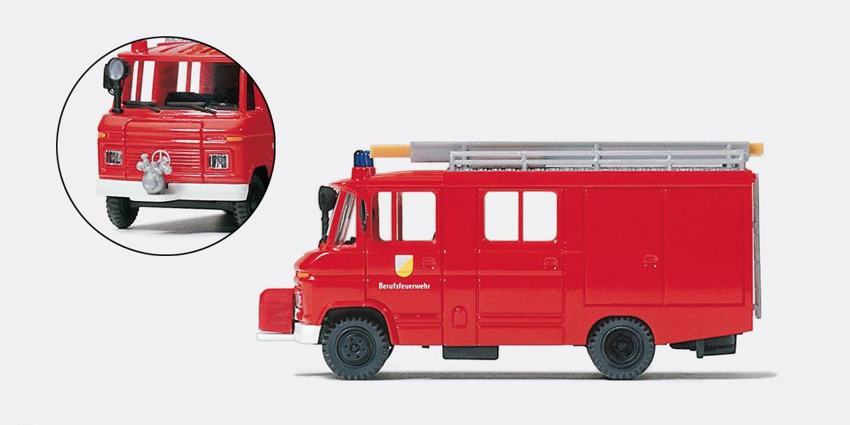 1:87 Feuerwehr Löschgruppenfahrzeug LF 8 MB 408-26, Flügeltüre Fertigmodell - Preiser 35026    günstig bestellen bei Modelleisenbahn Center  MCS Vertriebs GmbH