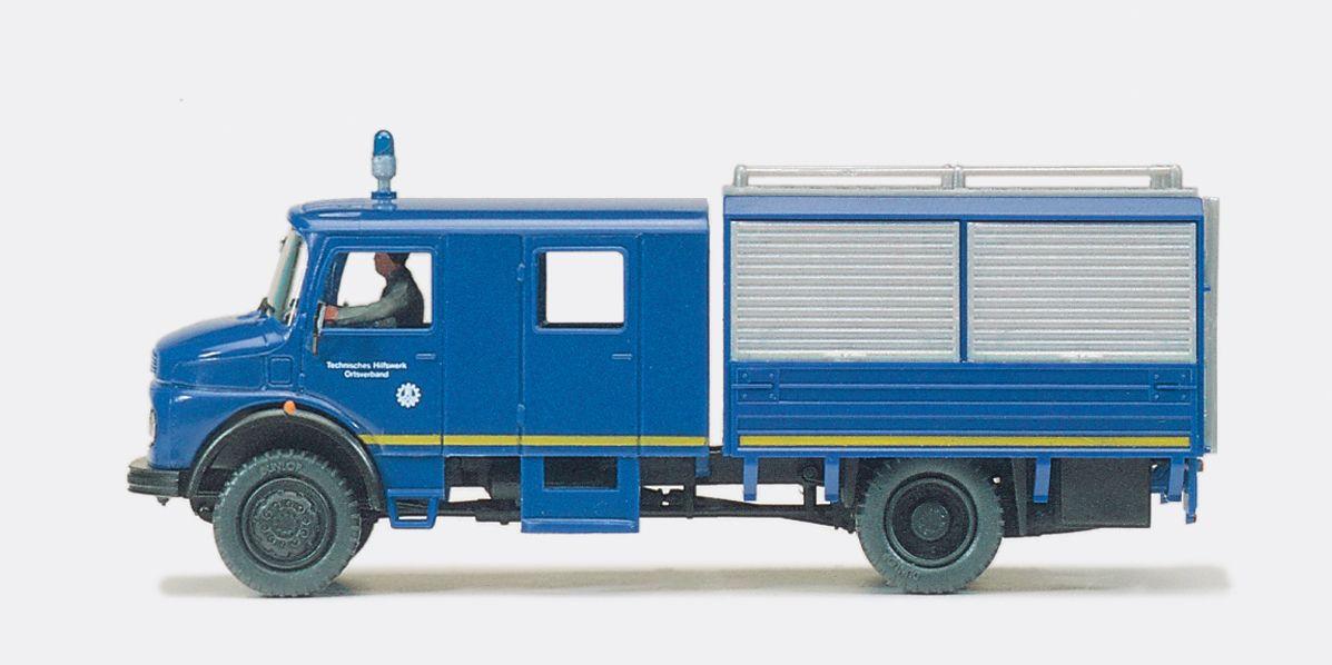 1:87 THW Mannschaftskraftwagen MKW 72, MB LA 1113 B-42 Fertigmodell - Preiser 37000  | günstig bestellen bei Modelleisenbahn Center  MCS Vertriebs GmbH