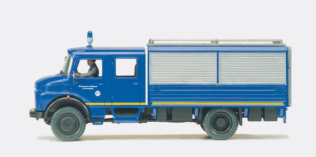 1:87 THW Gerätekraftwagen GKW MB LA 1113 B-42 Fertigmodell - Preiser 37001  | günstig bestellen bei Modelleisenbahn Center  MCS Vertriebs GmbH