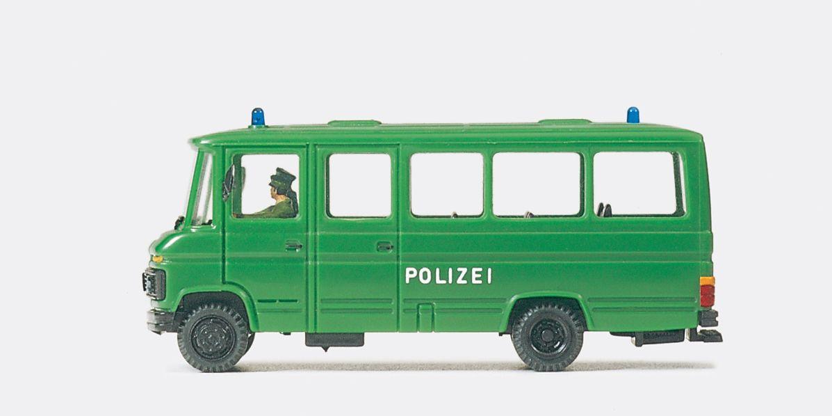 1:87 Polizei Gruppenkraftwagen Grukw MB L 508 D Fertigmodell - Preiser 37020  | günstig bestellen bei Modelleisenbahn Center  MCS Vertriebs GmbH