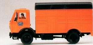 1:87 Viehtransporter MB 1017, FM - Preiser 38010  | günstig bestellen bei Modelleisenbahn Center  MCS Vertriebs GmbH