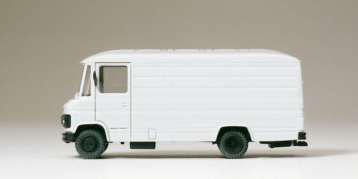 1:87 MB 508 D Transporter grau Fertigmodell- Preiser 38036  | günstig bestellen bei Modelleisenbahn Center  MCS Vertriebs GmbH