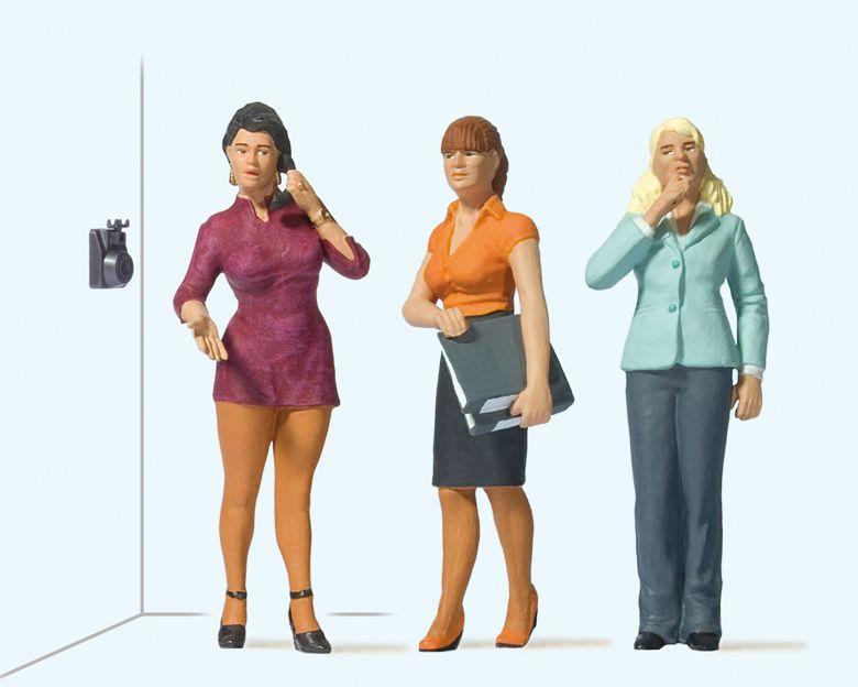 1:22,5 Junge Frauen im Büro – Preiser 44922    günstig bestellen bei Modelleisenbahn Center  MCS Vertriebs GmbH
