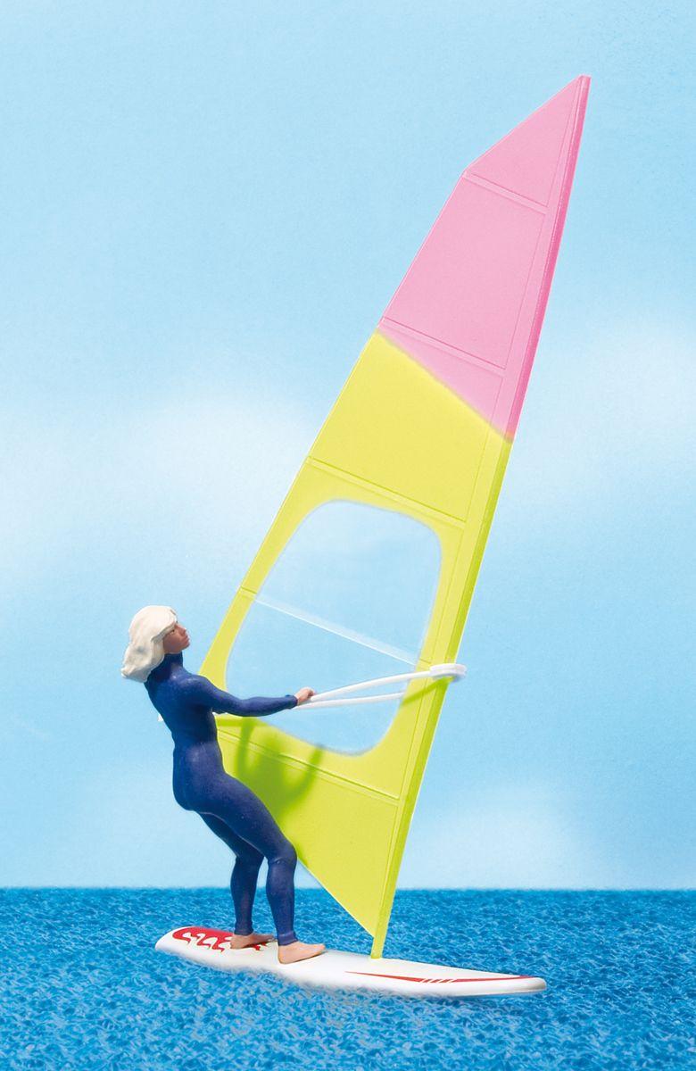 1:22,5 Windsurferin mit Surfbrett – Preiser 44926    günstig bestellen bei Modelleisenbahn Center  MCS Vertriebs GmbH