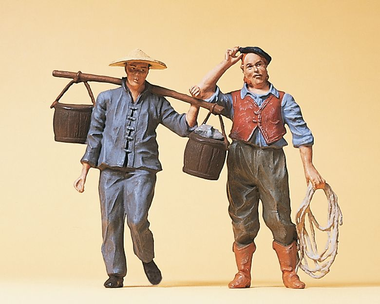 1:22,5 Arbeiter um 1900 - Preiser 45105  | günstig bestellen bei Modelleisenbahn Center  MCS Vertriebs GmbH
