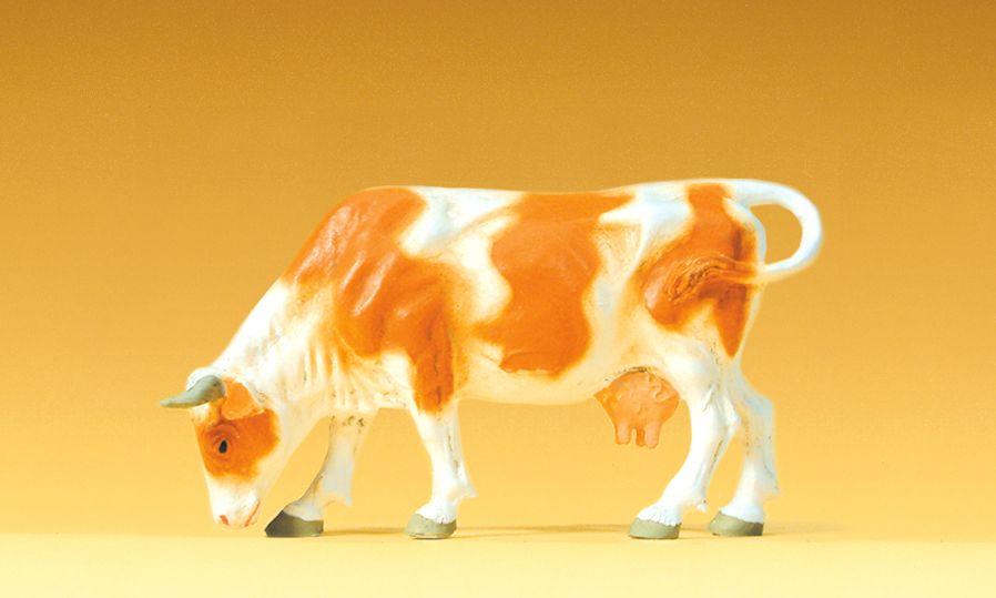 1:25 Kuh, weidend - Preiser 47000  | günstig bestellen bei Modelleisenbahn Center  MCS Vertriebs GmbH