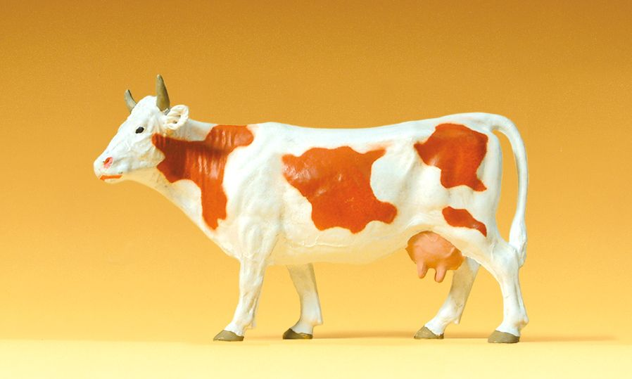 1:25 Kuh, stehend - Preiser 47003  | günstig bestellen bei Modelleisenbahn Center  MCS Vertriebs GmbH