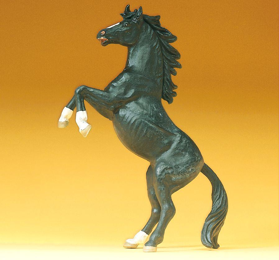1:25 Pferd, steigend - Preiser 47020  | günstig bestellen bei Modelleisenbahn Center  MCS Vertriebs GmbH